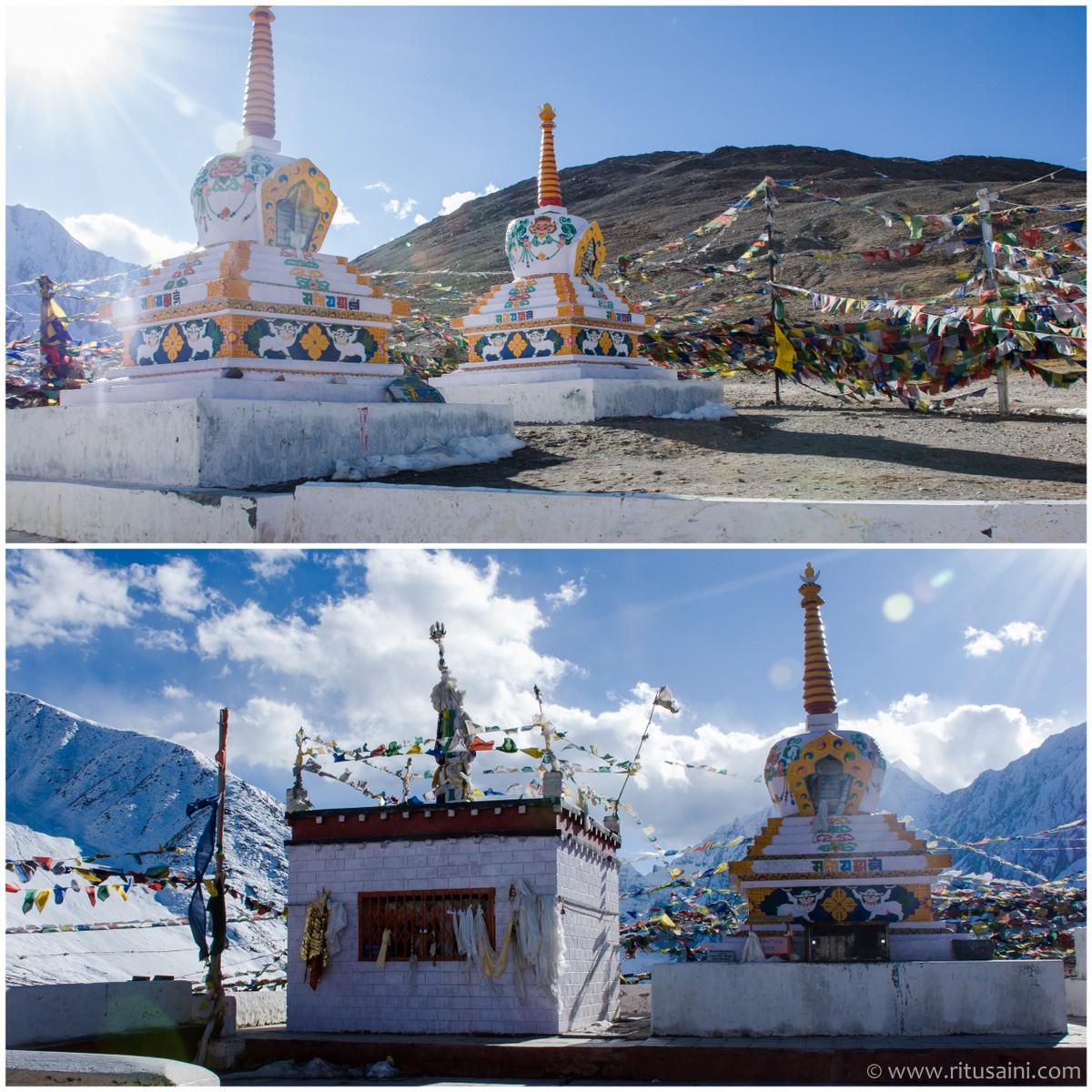 Kunzum devi temple at Kunzum pass